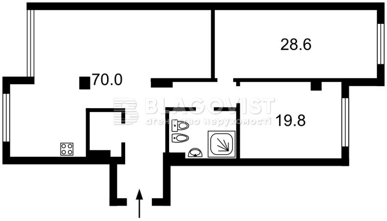 Квартира D-35220, Драгомирова Михаила, 12, Киев - Фото 6
