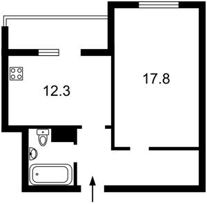 Квартира Данченка Сергія, 28б, Київ, R-27355 - Фото 2
