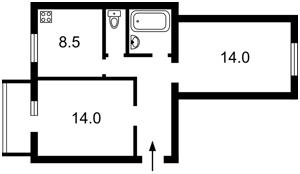 Квартира Грушевського М., 34/1, Київ, Z-997492 - Фото2