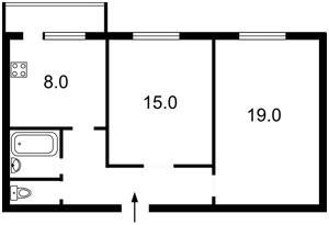 Квартира Оболонский просп., 34/1, Киев, F-40578 - Фото2