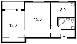 Квартира Перемоги просп., 22, Київ, F-42003 - Фото 2
