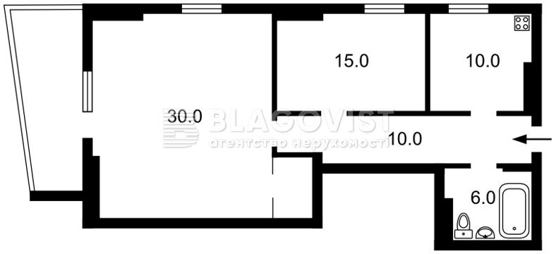 Квартира H-44720, Ділова (Димитрова), 2б, Київ - Фото 4