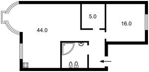 Квартира Золотоустівська, 50, Київ, Z-544014 - Фото 2