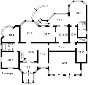 Дом Рудыки (Конча-Заспа), M-35587 - Фото2