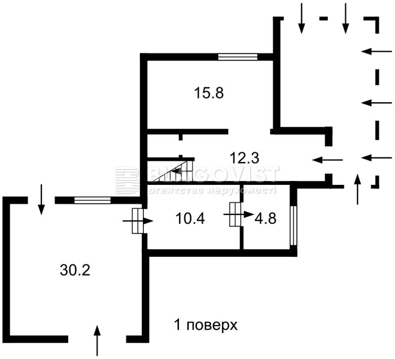Дом H-44799, Садовая (Осокорки), Киев - Фото 2