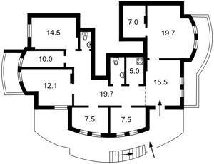 Нежилое помещение, Лобановского просп. (Краснозвездный просп.), Киев, Z-237468 - Фото 2