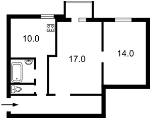 Квартира Тарасівська, 10а, Київ, Z-558740 - Фото2