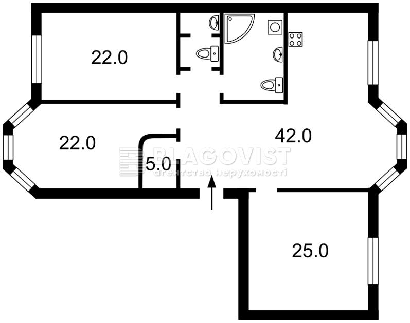 Квартира Z-372977, Дяченка, 20а, Київ - Фото 4