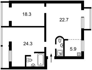 Квартира Велика Васильківська, 112, Київ, R-27724 - Фото 2