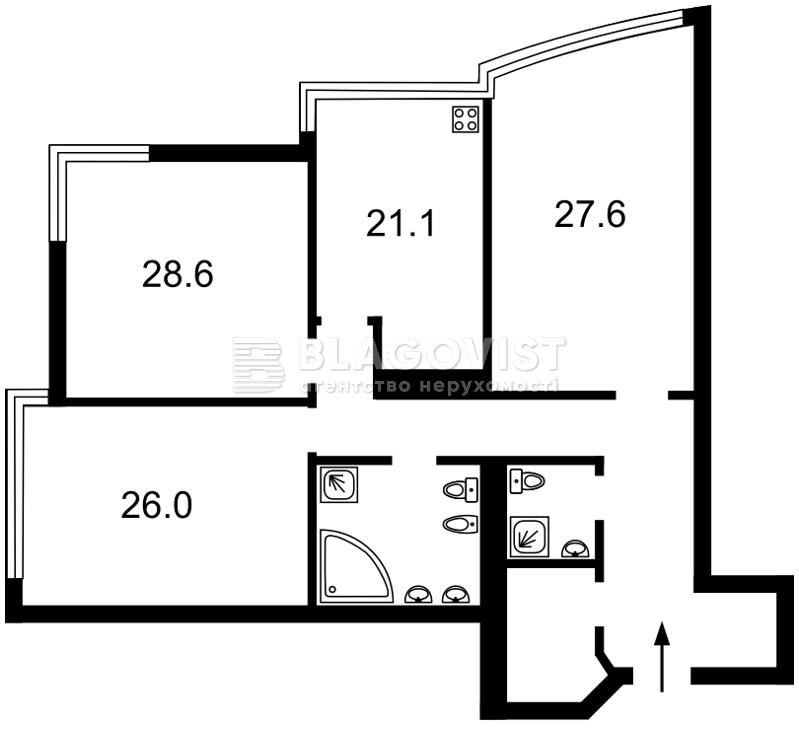 Квартира M-34554, Кловський узвіз, 7, Київ - Фото 5