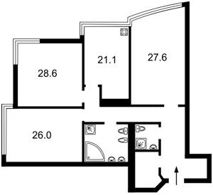 Квартира Кловский спуск, 7, Киев, M-34554 - Фото2