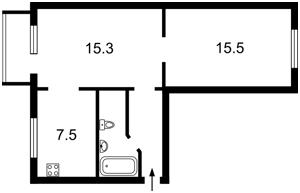 Квартира Набережно-Луговая, 5, Киев, Z-1158098 - Фото2