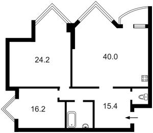 Квартира Бульварно-Кудрявская (Воровского) , 11а, Киев, Z-694102 - Фото 2