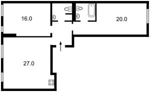 Квартира Соборности просп. (Воссоединения), 17 корпус 2, Киев, F-42070 - Фото2