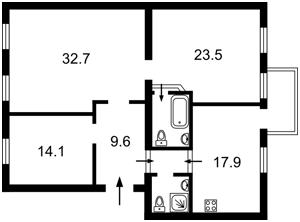 Квартира Хмельницкого Богдана, 78, Киев, R-27584 - Фото2