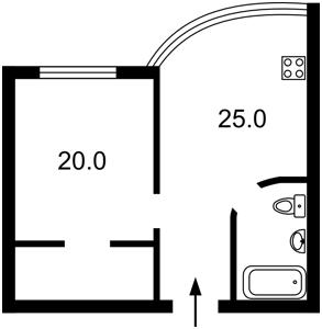 Квартира Героев Сталинграда просп., 8, Киев, F-41038 - Фото2