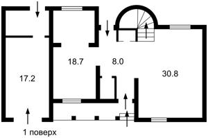 Дом Рыбальский пер., Козин (Конча-Заспа), Z-560112 - Фото 2