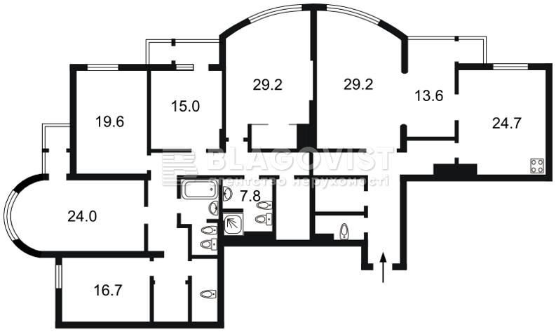 Квартира M-35783, Шевченко Тараса бульв., 27б, Киев - Фото 6