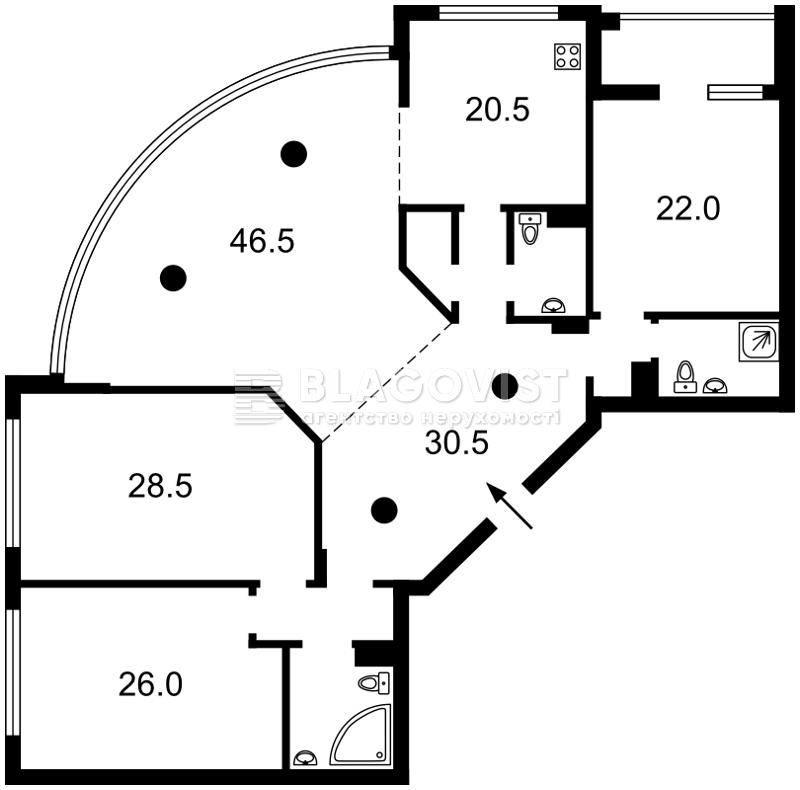 Квартира M-35780, Антоновича (Горького), 131, Киев - Фото 5