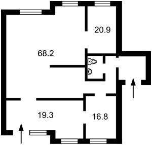 Нежилое помещение, Амосова, Софиевская Борщаговка, F-42106 - Фото2