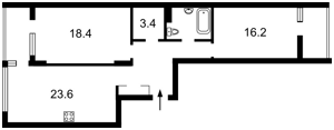 Квартира Предславинская, 57, Киев, E-38752 - Фото 2