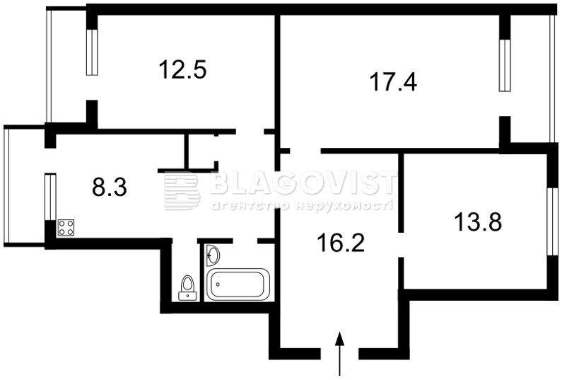 Квартира Q-1338, Миропольская, 29, Киев - Фото 4