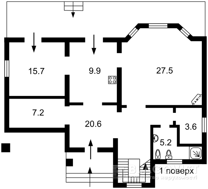 Дом A-110470, Гатное - Фото 4
