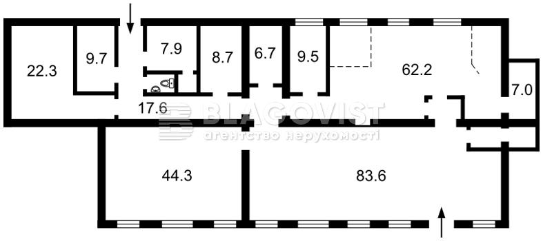 Нежитлове приміщення, A-110417, Єреванська, Київ - Фото 3