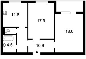 Квартира Радунская, 11, Киев, Z-565078 - Фото 2