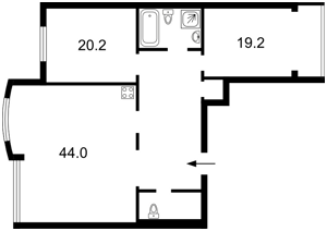 Квартира Голосеевская, 13б, Киев, R-28161 - Фото2