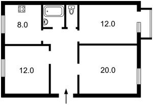 Квартира Городецького Архітектора, 4, Київ, R-27909 - Фото2