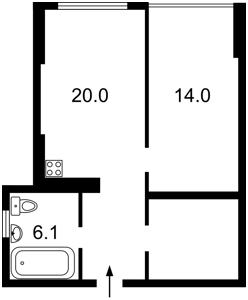 Квартира Днепродзержинская, 6, Киев, Z-550180 - Фото2