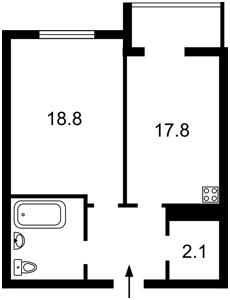 Квартира Саперное Поле, 12, Киев, Z-563535 - Фото2