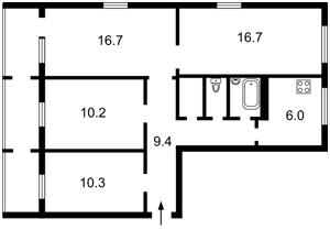 Квартира Кольцова бульв., 15а, Киев, Z-566053 - Фото2