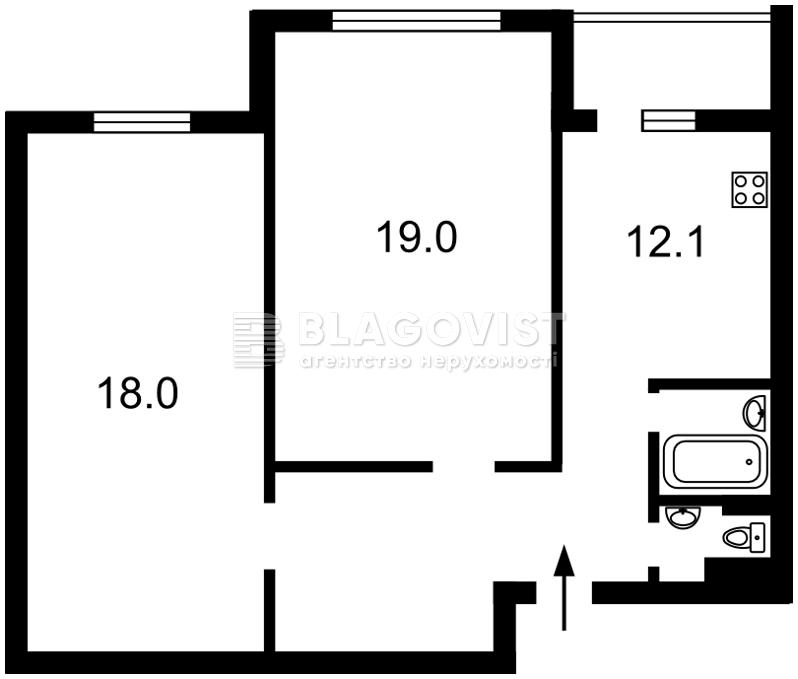 Квартира D-35358, Гавела Вацлава бульв. (Лепсе Ивана), 6/7а, Киев - Фото 3