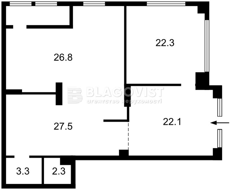 Нежилое помещение, Драгомирова Михаила, Киев, R-27935 - Фото 2