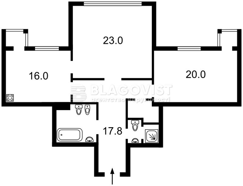 Квартира Z-561147, Лобановского просп. (Краснозвездный просп.), 6г, Киев - Фото 3