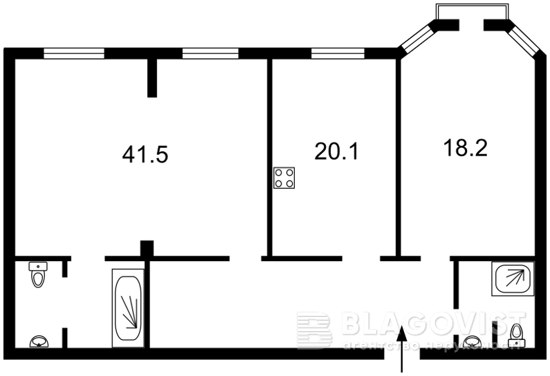 Квартира H-44177, Полтавська, 10, Київ - Фото 7