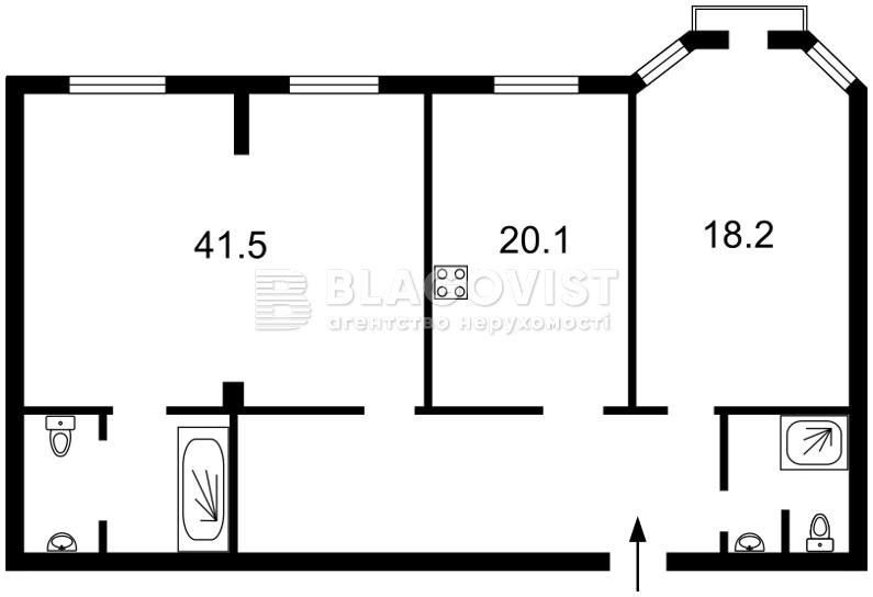 Квартира H-44176, Полтавська, 10, Київ - Фото 7