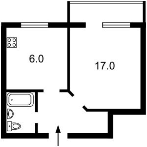 Квартира Костянтинівська, 45, Київ, Z-690728 - Фото2