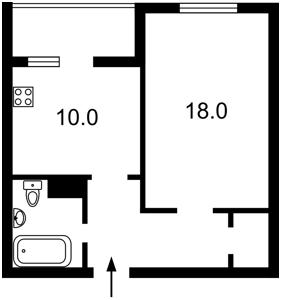 Квартира Данченка Сергія, 32, Київ, Z-569723 - Фото2
