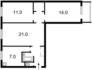 Квартира Лесі Українки бул., 5, Київ, Z-236072 - Фото 2