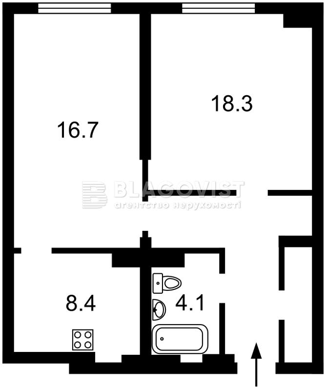 Квартира F-42205, Драгомирова Михаила, 14а, Киев - Фото 4