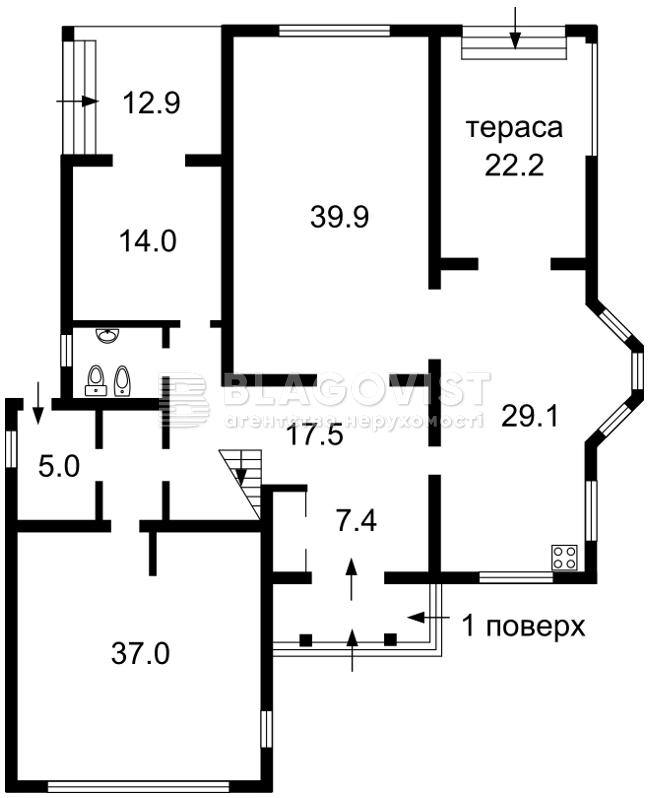 Дом H-45089, Вишенки - Фото 6