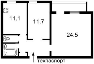 Квартира Січових Стрільців (Артема), 31, Київ, F-42204 - Фото 3