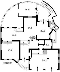 Будинок Козин (Конча-Заспа), R-25460 - Фото 3