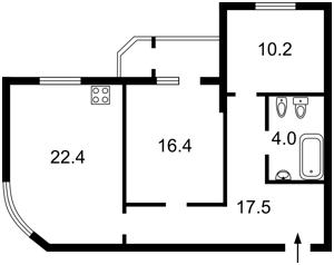 Квартира F-42223, Кирилло-Мефодиевская, 2, Киев - Фото 5