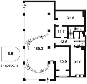 Нежитлове приміщення, Малевича Казимира (Боженка), Київ, R-28440 - Фото2
