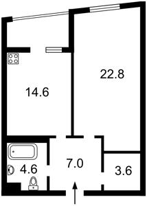 Квартира Жмаченка Ген., 28, Київ, Z-572203 - Фото2