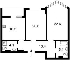 Квартира D-35447, Вышгородская, 45, Киев - Фото 5